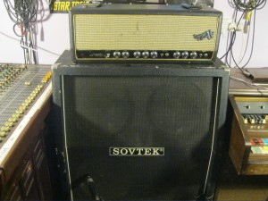21 Holden Wasp 100 watt amp and Sovtek 4 X 12 Quad box